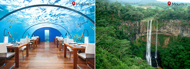Sight Seeing: Maldives vs Mauritius