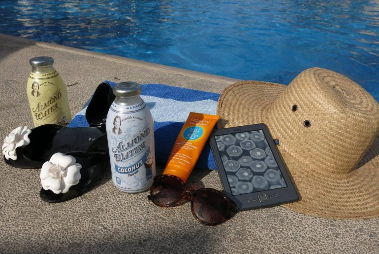 Sunglasses, Sunscreen and Sunhat