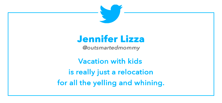 Tweet by Jennifer Lizza