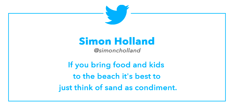 Tweet by Simon Holland