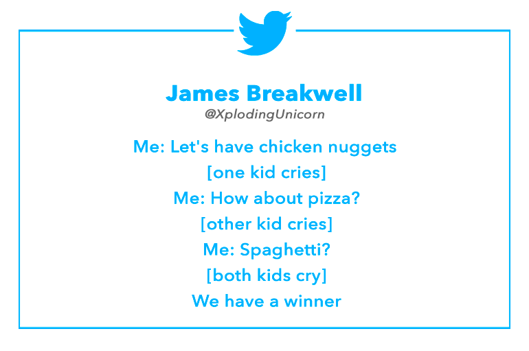 Tweet by James Breakwell