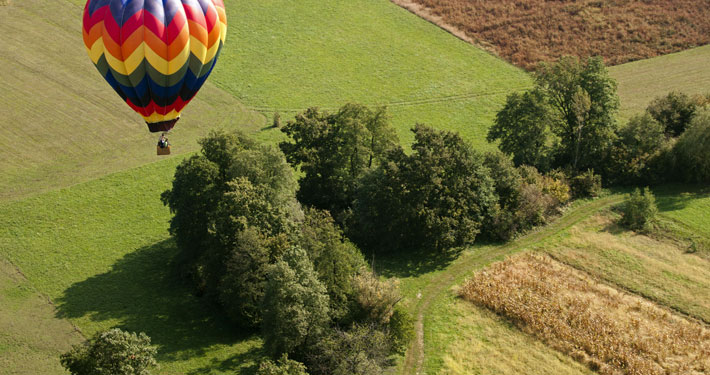 Hot Air Balloon Ride over Lonavala