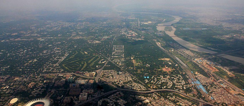 Delhi_aerial_photo_