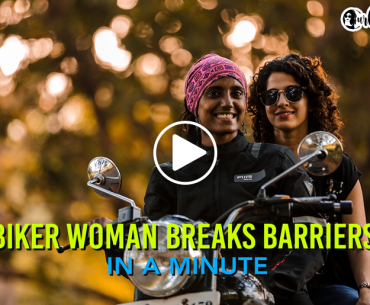#CurlyTalesOfInspiration: Biker Woman Breaks Barriers