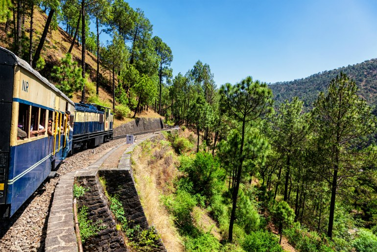 Most Scenic Train Journeys In India