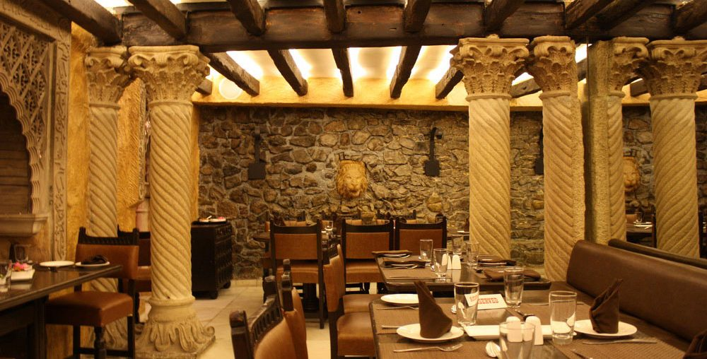 Khyber-Restaurant-Mumbai-interiors-of-a-dining-room