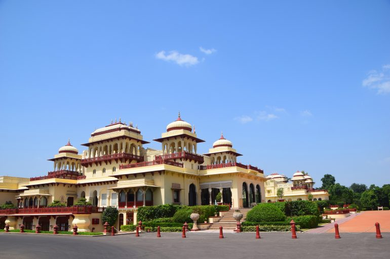 Rambagh Palace in Jaipur