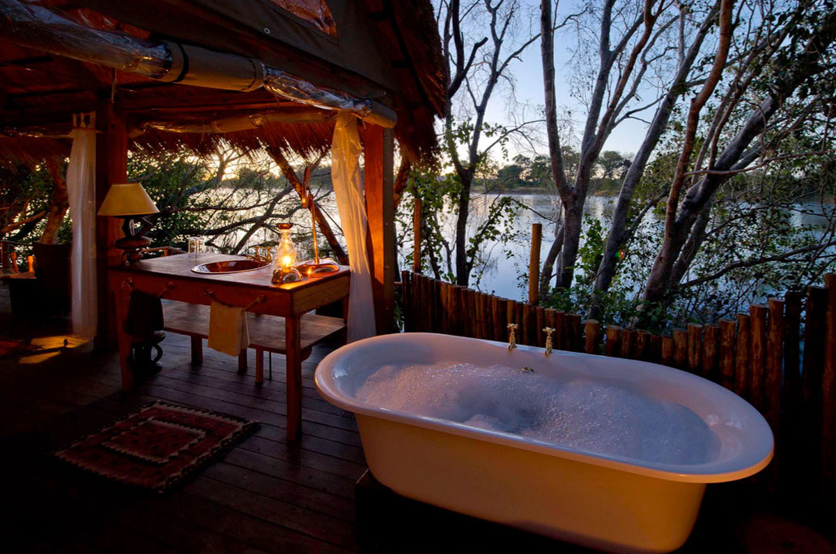Tongabezi Lodge, Simonga, Zambia