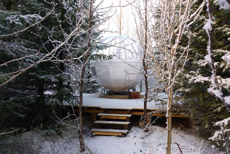 The Buubble in winter
