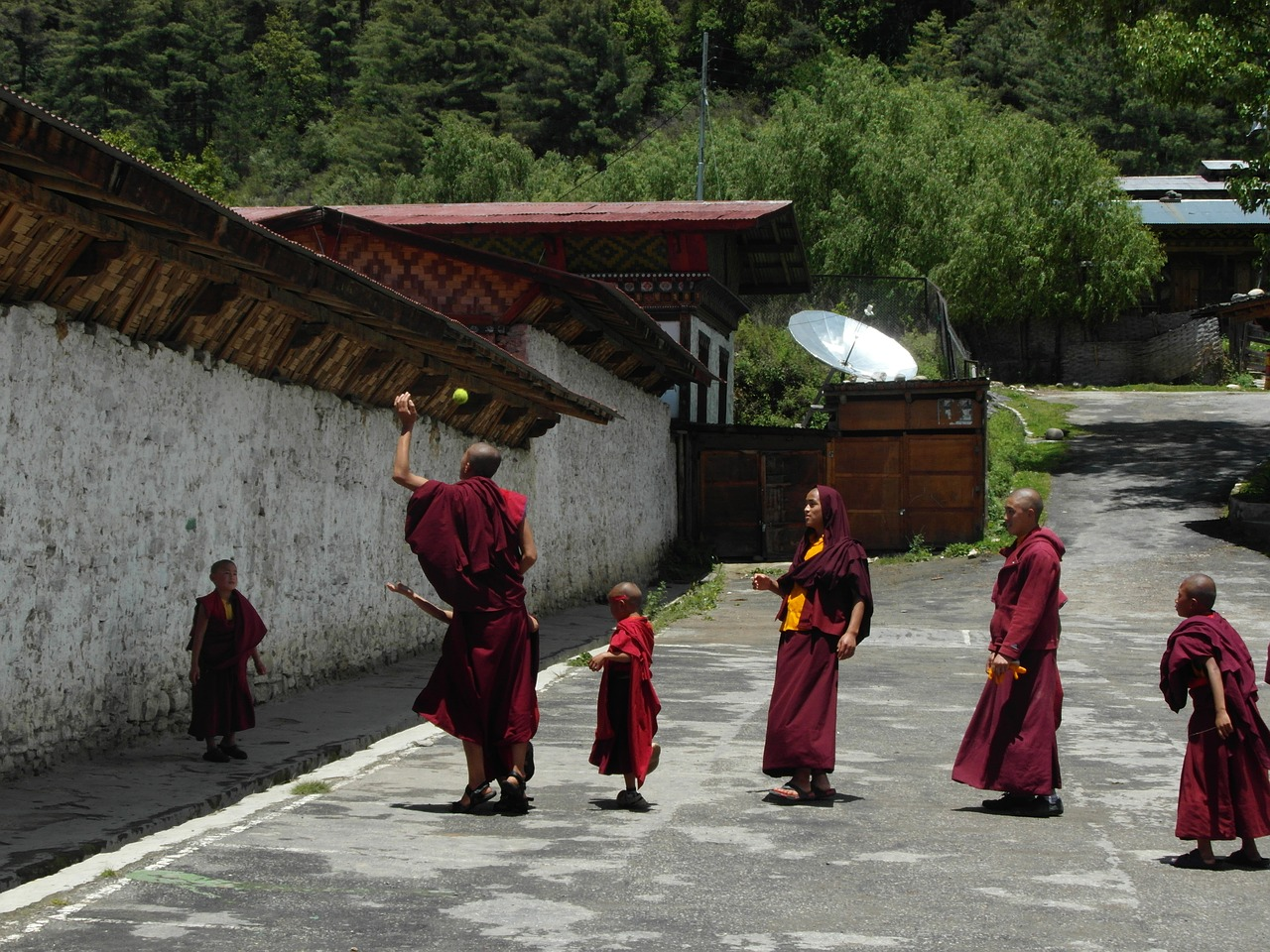 People in Bhutan