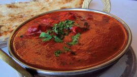 butter chicken food