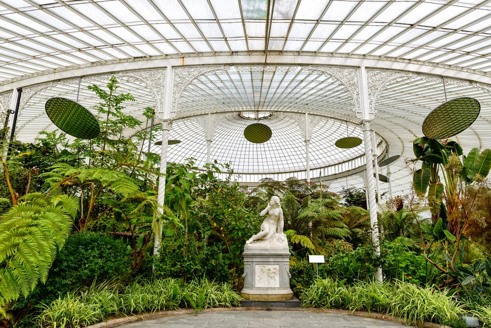 Kibble Palace, Glasgow Botanical Gardens, Scotland