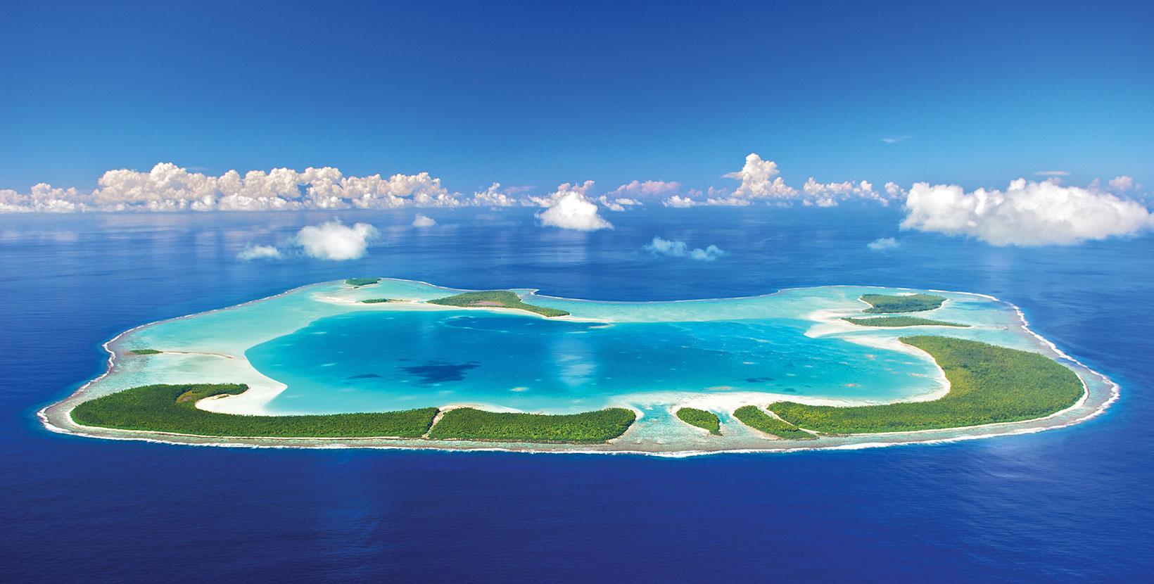 The Pacific Island Of Tetiaroa