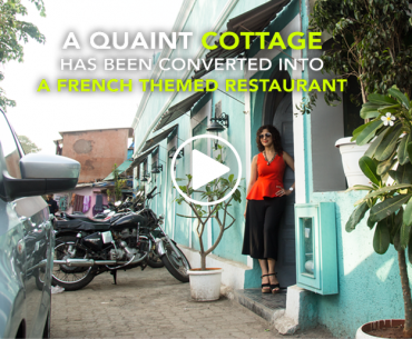 This Quaint Cottage In Worli Has Been Converted Into A French Restaurant