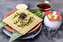 Guppy - Hiyashi Tanuki Green Tea Cha Soba (1)
