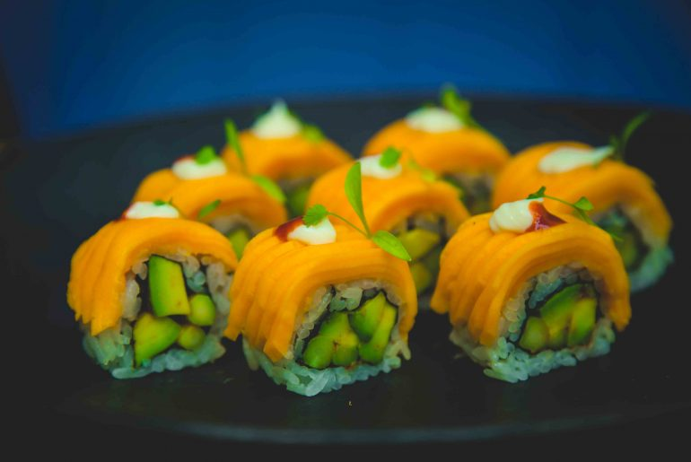Guppy - Mango And Avocado Cream Cheese Roll