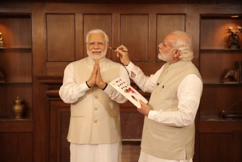 Madame-Tussauds-Side-by-side-Unveil-of-Wax-figure-Indian-PM-Narendra-Modi-1-New-Delhi