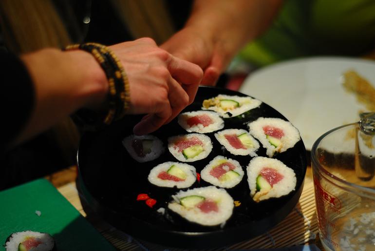 Sushi Delhi Feature