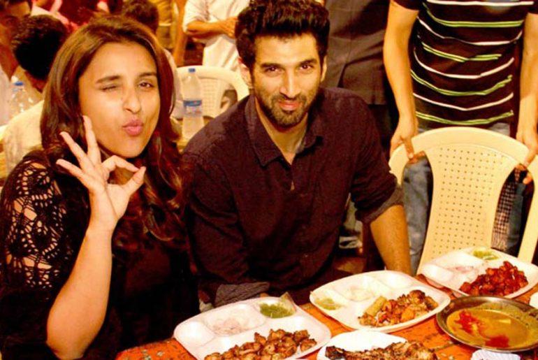 Parineeti Chopra & Siddharth Roy Kapoor enjoying Iftaar