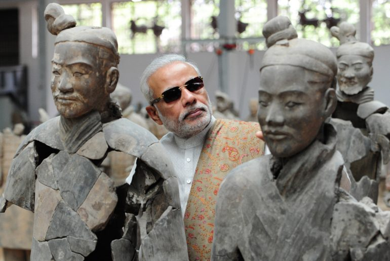 CHINA-XI'AN-INDIAN PM-MODI-VISITING (CN)