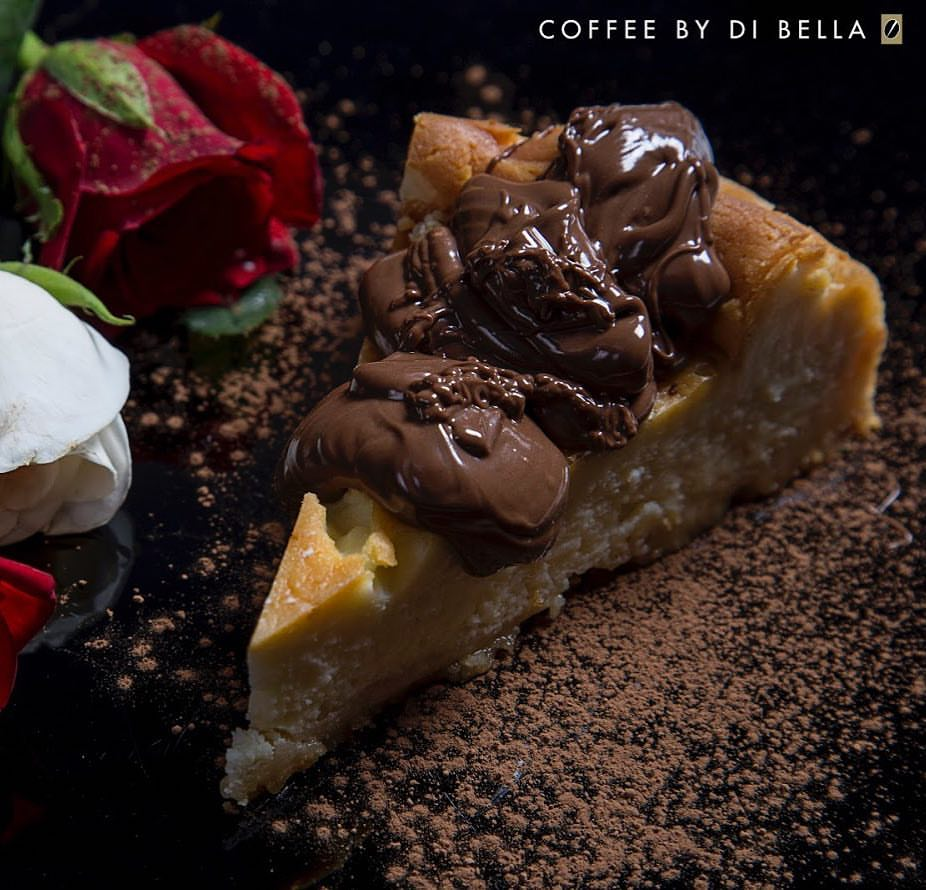 Baked Philly Cheesecake with Nutella