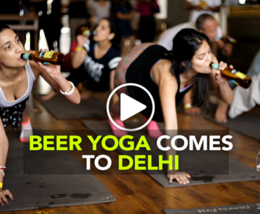 Beer Yoga Is Now A Thing & Here's Where You Can Do It!