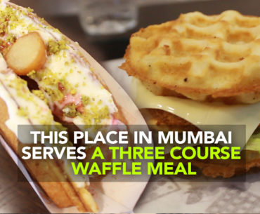This Place In Powai Serves A Three Course Waffle Meal