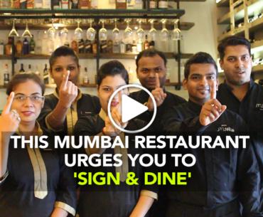 These Mumbai Restaurants Urge You To 'Sign & Dine'