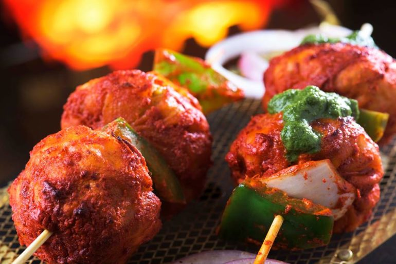 Tandoori Momos at Wow! Momo