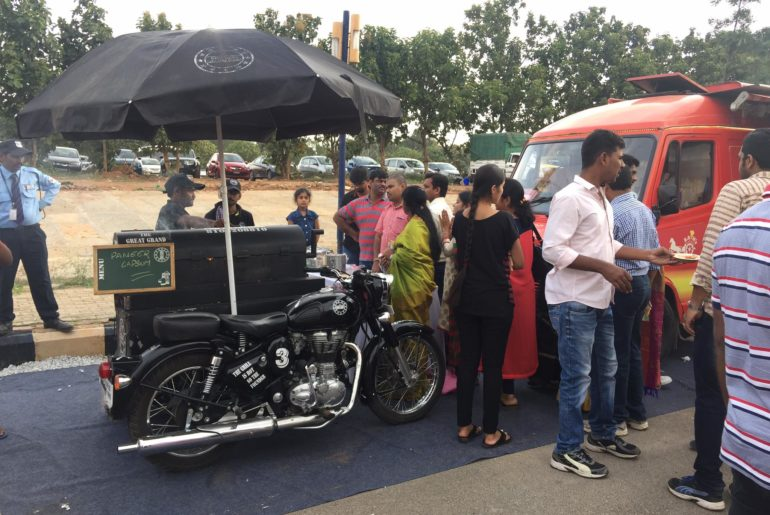 Vroom! Vroom! With India's First BBQ Food Bike