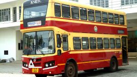 Double Decker Bus in Bengaluru - Curly Tales