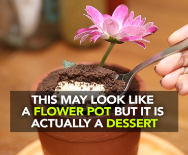 Jamjar Diner Serves An Edible Muddy Dessert In A Flower Pot