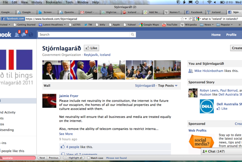 Iceland-Facebook