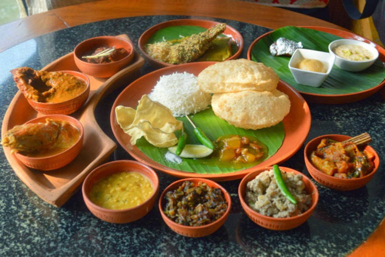 Traditional Bengali Thali