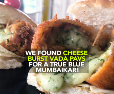 Borivali's Hungry JD Restaurant Serves Cheese Burst Vada Pavs!