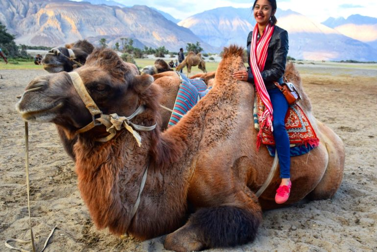 Ride on the Bactrian Camel
