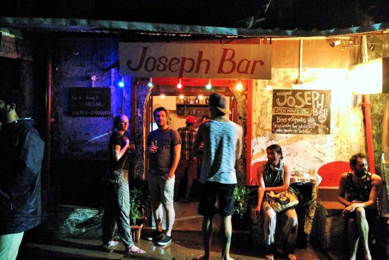 Joseph Bar in Fontainhas
