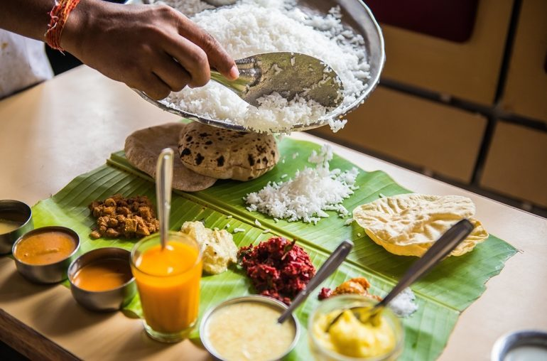 Complete South Indian Meal at A.Ramanayak
