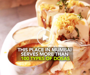 Pure Milk Centre In Ghatkopar Serves Over 100 Whacky Dosas!