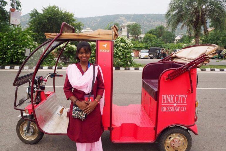 Pink_City_ERickshaw