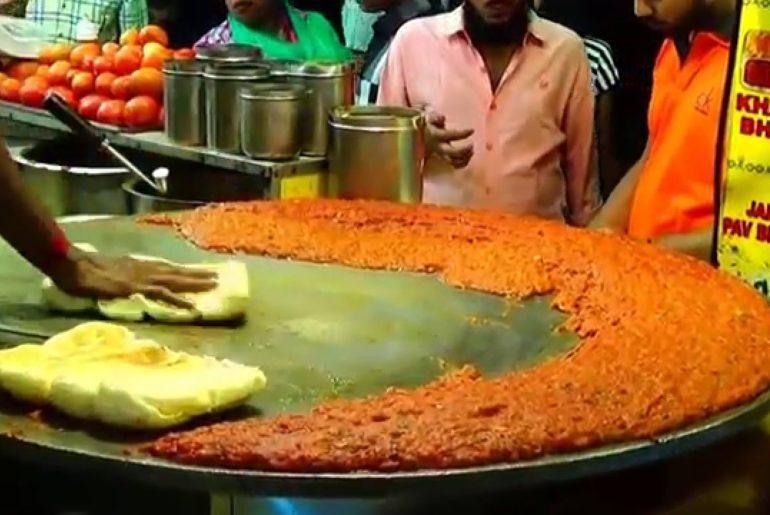 street food pav bhaji