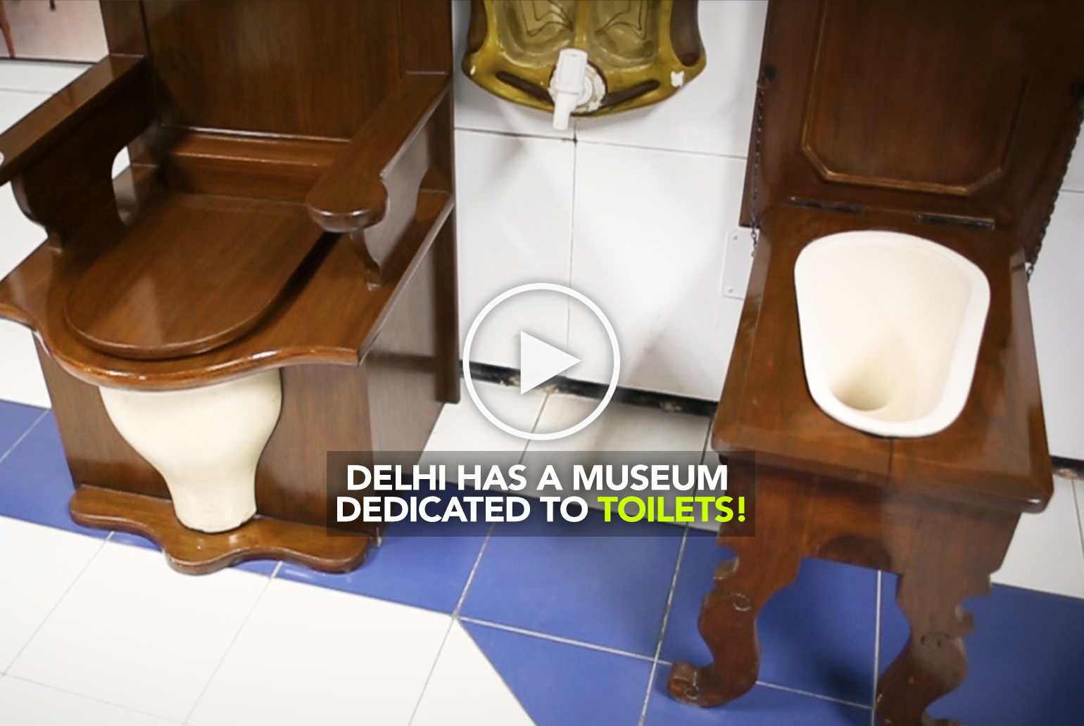 Ever Thought Of A Museum Of Toilets? Check Out Sulabh Museum In ...