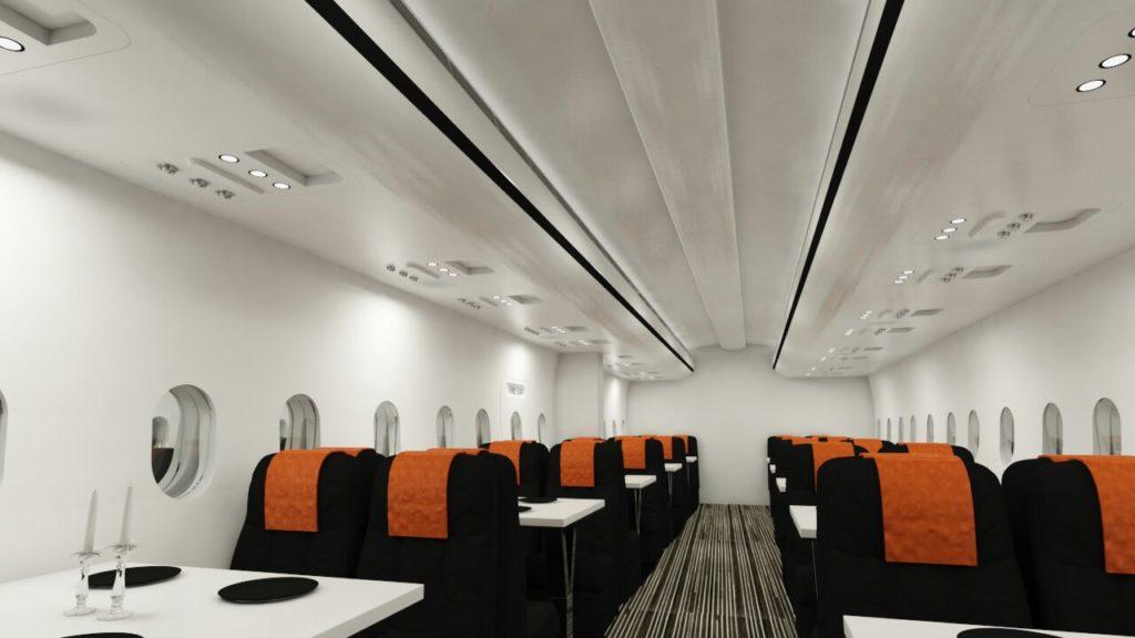 747 Airplane Themed Restaurant in Chennai