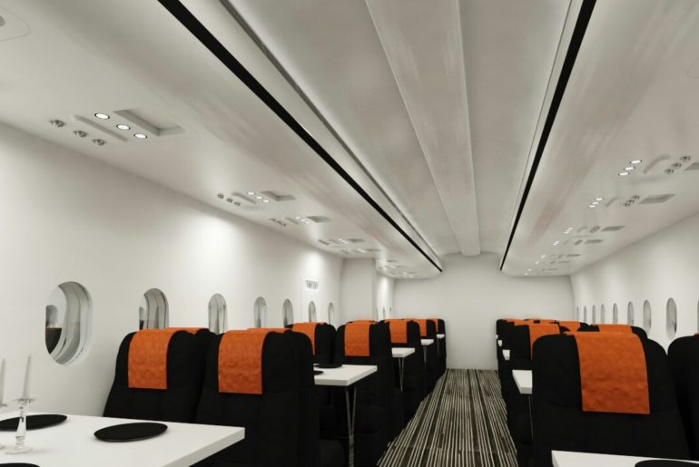 747 Airplane Themed Restaurant in Chennai