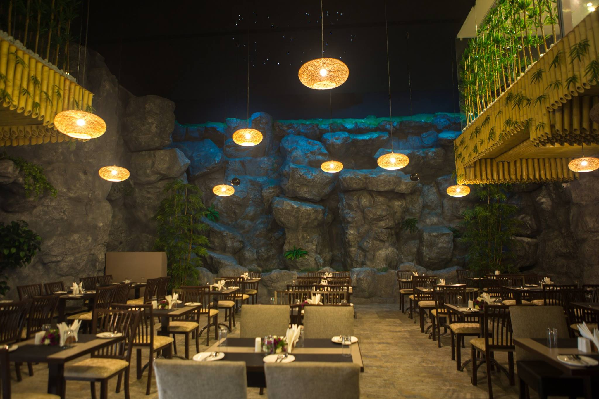Waterfall Restaurant in Chennai