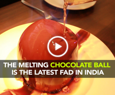 This Melting Chocolate Ball Is Every Dessert Lovers Dream Coming True