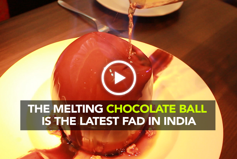 Melting Chocolate Ball