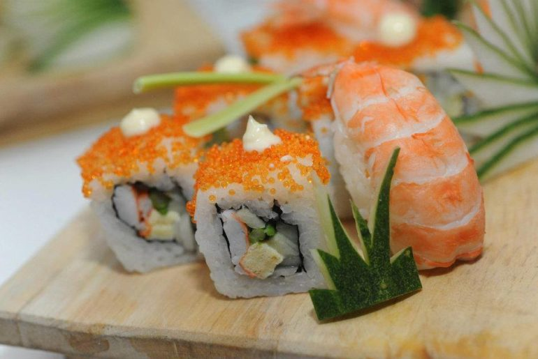 sushi at zen