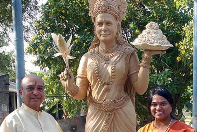 Sonia Gandhi Temple - Telangana