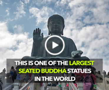 The Hong Kong Big Buddha Is Among The Largest Seated Buddha Statues In The World